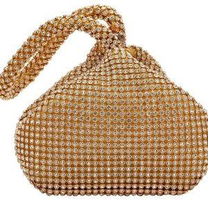 Women's Evening Clutch Bag Full Rhinestones